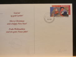 66/193    CP  NORGE 1998  MERRY CHRISTMAS