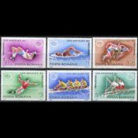 ROMANIA 1984 - Scott# 3184-9 Olympics Set Of 6 MNH - 1948-.... Republics