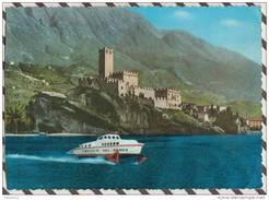 X2475 Malcesine Con Aliscafo Freccia Del Garda BATEAU    2 SCAN - Genova (Genoa)