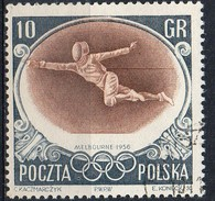 PIA - POL - 1956 - Giochi Olimpici Di Melbourne : Scherma - (Yv  871 )