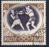 PIA - POL - 1956 - Giochi Olimpici Di Melbourne : Pugilato - (Yv  872 )