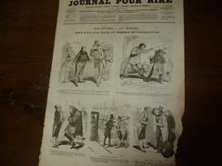 1855 Gravures Etc:  Pot Pourri (Bertall); BÊTISANA (Bayard); Toupiers (Randon); - Vieux Papiers