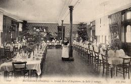 CPA HUELGOAT - GRAND HOTEL D'ANGLETERRE - LA SALLE A MANGER - Huelgoat