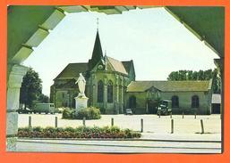 """CPSM GF Saint Dizier """" église Saint Martin """" LJCP 42 - Saint Dizier"""
