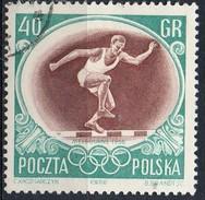 PIA - POL - 1956 - Giochi Olimpici Di Melbourne : Corsa 3000 M Con Siepi - (Yv  874 )