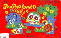 Télécarte Japon * TORTUE  (1349)   PHONECARD JAPAN * * TURTLE *  TELEFONKARTE * SCHILDKRÖTE * SCHILDPAD - Turtles