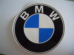Sticker Autocollant BMW Diam 17cm - Stickers