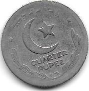 Pakistan 1/4 Rupee   1948  Km 5 - Pakistan