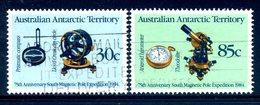 AAT - Australia 1984 75th Anniversary Of Magnetic Pole Expedition Set Used - Australian Antarctic Territory (AAT)