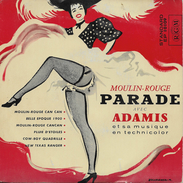 Adamis 45t. EP *moulin Rouge Parade* - Musicals