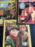 3 N° De Grands Reportages : N° 7/13 & 14 (1979/80) - Tourisme & Régions