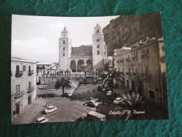 CARTOLINA  -   PALERMO CEFALU' IL DUOMO ANIMATA     B  1843 - Palermo