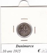 DANIMARCA   10 ORE  1915  COME DA FOTO - Danimarca