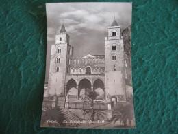 CARTOLINA  -   PALERMO CEFALU'  LA CATTEDRALE ANIMATA     B  1846 - Palermo