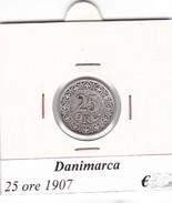 DANIMARCA   25 ORE  1907  COME DA FOTO - Danimarca
