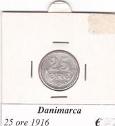DANIMARCA   25 ORE  1916  COME DA FOTO - Danimarca