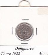 DANIMARCA   25 ORE  1922  COME DA FOTO - Danimarca