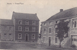 Xhoris - Grand'Place (Phototypie Desaix, 1921) - Ferrieres