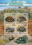 NIGER 2013 SHEET TURTLES TORTUES TARTARUGAS TORTUGAS TARTARUGHE SCHILDKROTEN REPTILES Nig13122a - Niger (1960-...)