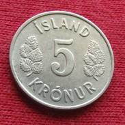 Iceland 5 Kronur 1971 KM# 18 Lt 405 *V2  Islande Islanda Islandia - Islandia