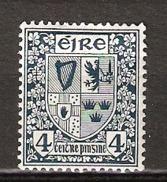 Ireland  1923 Definities 4pg  Mi 46, Unused - 1922-37 Stato Libero D'Irlanda