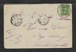 "Postcard, ""Burgerheim"" Posted 1908 ST GALLEN > BOLO Via DOHN, Cape Colony , S.Africa                      . - South Africa (...-1961)"