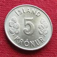 Iceland 5 Kronur 1980 KM# 18  Lt 409  Islande Islanda Islandia - Island