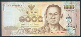 Thailand, 1000 Baht, Pick 127, Sign. 85, 2015, UNC ! - Thailand