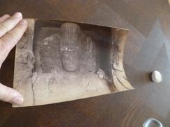 Photo Originale 19ème Inde India 23.4 X 18.2 Statue Bouddha - Photos