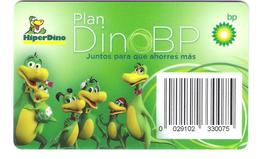 Spain - Membership Card - HiperDino - BP Petrol - Comic Dino Family - Frankreich