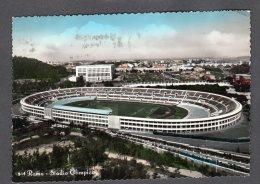 1959 ROMA STADIO OLIMPICO FG V  SEE 2 SCANS TARGHETTA V RASSEGNA CINEMA - Stadi & Strutture Sportive