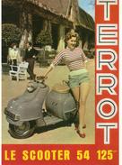 CPM. Publicité. Scooter Terrot. - Postcards
