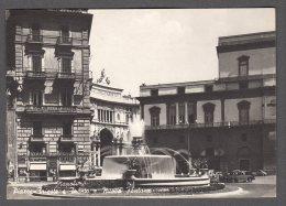 NAPOLI PIAZZA TRIESTE E TRENTO NUOVA FONTANA FG V  SEE 2 SCANS - Napoli