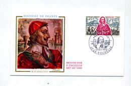 Lettre Fdc 1970 La Rochelle Richelieu - 1970-1979