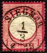 05390 Alemanha Reich 16 Aguia Grande Escudo Siegmar U - Gebraucht