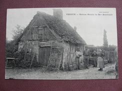 CPA 71 VERJUX Maison Natale De Mme BOUCICAUT RARE PLAN ANIMEE  Canton GERGY - France
