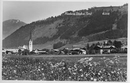 MIEDERS → Dorfpartie Bei Der Kirche, Fotokarte Ca.1960 - Innsbruck