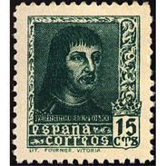 ES841ASTV-LTV***841ASTCFR..Spain.Esgane .Religion.ISABEL LA CATOLICA.1938.(Ed 841A**) - Familias Reales