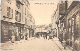 Dépt 60 - SENLIS - Place De La Halle - Horlogerie Ledoux (Gérard Successeur), Magasin Chastaing - Senlis