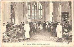 Dépt 60 - SENLIS - Intérieur Du Marché - (intérieur D'Église) - Senlis