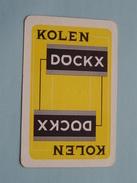Kolen DOCKX / Reclame JOKER ( Details - Zie Foto´s Voor En Achter ) !! - Playing Cards (classic)