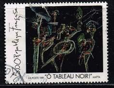"""Frankreich 1991, Michel# 2868 O Roberto Matta, """"O Blackboard"""" - Frankreich"""