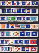 USA 1976 Bicentennial State Flags Set Of 50, MNH (SG 1613/62) - United States