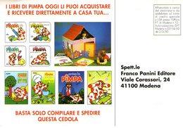 B 438 - Pubblicitarie, Pimpa, Panini - Pubblicitari