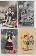 Lot 215 De 100 CPA Enfants Fantaisies Déstockage Pour Revendeurs Ou Collectionneurs  PORT GRATUIT FRANCE - Postales