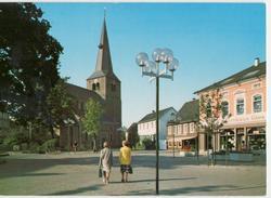 4010 Hilden NRW An Der Mittelstraße Elektrohaus Gies Kirche Gasthaus 1985 - Hilden