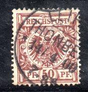 GERMANIA IMPERO 1889 , Il N. 50 Usato - Germania