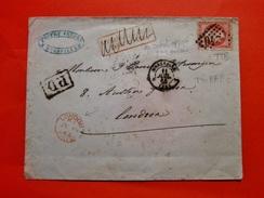 FRANCE COLLECTION 85 LETTRES CLASSIQUES RARES MAJORITE TTB - Marcophilie (Lettres)