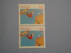 Australie 1990 Yvert 1181a ** Sport  Scott 1119a  Michel 1223  SG 1260 Booklet Pair - 1990-99 Elizabeth II