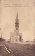 Woluwe Saint Etienne - L'Eglise De Kerk (timbre, Postzegel) - Zaventem